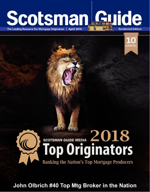 John Olbrich award - 2018